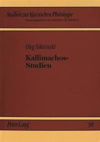 Kallimachos-Studien
