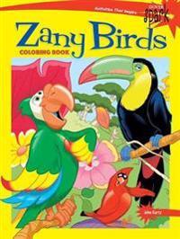 Spark Zany Birds Coloring Book