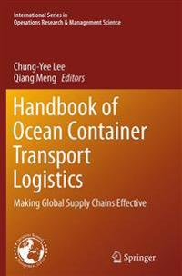 Handbook of Ocean Container Transport Logistics