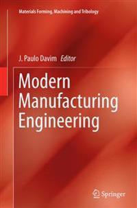 Modern Manufacturing Engineering