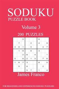 Sudoku Puzzle Book: 200 Puzzles-Volume 3