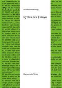 Syntax Des Turoyo