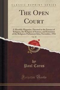 The Open Court, Vol. 30