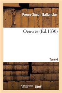 Oeuvres Tome 4