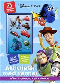 Aktiviteter med venner. Disney-Pixar