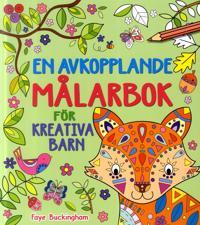 En avkopplande målarbok för kreativa barn