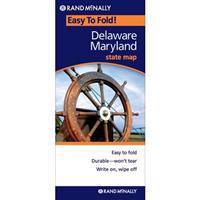 Rand McNally Easyfinder Delaware/Maryland