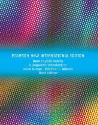 How English Works: Pearson New International Edition