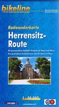 Herrensitz-Route Walking Map GPS