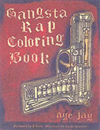 Gangsta Rap Adult Coloring Book