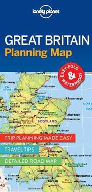 Lonely Planet Great Britain Planning Map