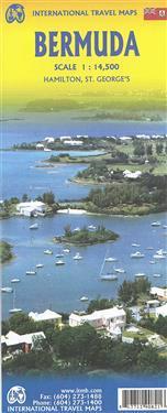 Bermuda Travel Reference Map 1 : 14 500