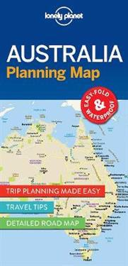 Lonely Planet Australia Planning Map Lonely Planet Kartta