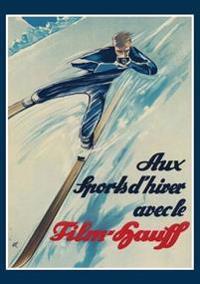 Carnet Blanc Skieur
