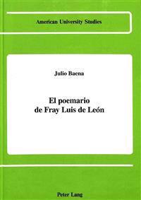 El Poemario De Fray Luis De Leon