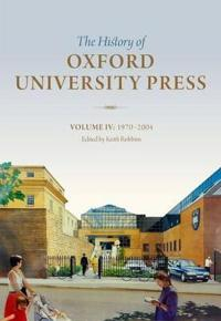 The History of Oxford University Press