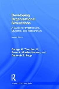 Developing Organizational Simulations