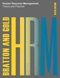 Human Resource Management, 6th edition