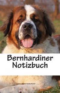 Bernhardiner Notizbuch: 100 Seiten Liniert