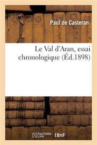 Le Val d'Aran, Essai Chronologique