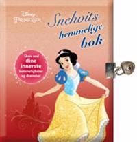 Snehvits hemmelige bok. Skriv ned dine innerste hemmeligheter og drømmer