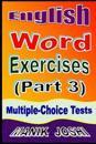 English Word Exercises (Part 3)