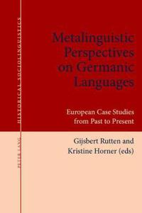 Metalinguistic Perspectives on Germanic Languages