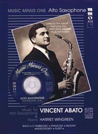 Intermediate Alto Sax Solos - Volume 2 (Vincent Abato): Music Minus One Alto Saxophone