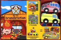 Min lilla brandstation (bok, pussel och leksaker)