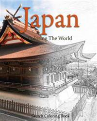 Japan Coloring the World: Sketch Coloring Book