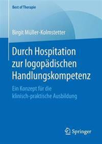 Durch Hospitation Zur Logop dischen Handlungskompetenz
