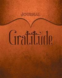 Gratitude Journal: Orange 8x10 128 Page Lined Journal Notebook Diary (Volume 1)