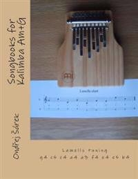 Songbooks for Kalimba Am+g: Lamells Tuning G4 C5 C4 A4 A3 F4 E4 E5 B4