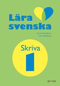 Lära svenska skriva, arbetsbok 1