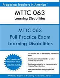 Mttc 063 Learning Disabilities: Mttc 063 Learning Disabilities