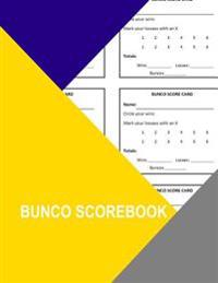Bunco Scorebook