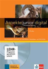 Aspekte junior B1 plus. Lehrwerk digital mit interaktiven Tafelbildern