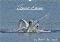 Elegance of Swans. 2017