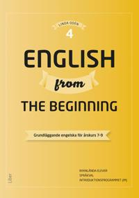 English from the Beginning 4 - Grundläggande engelska för årskurs 7-9