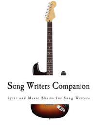 Song Writers Companion: Blank Sheet Music Guitar Chords