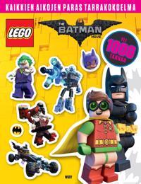 LEGO® Batman elokuva. Kaikkien aikojen paras tarrakirja
