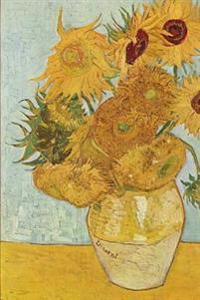 Vincent Van Gogh's 'Vase with Twelve Sunflowers, ' Art of Life Journal (Lined)