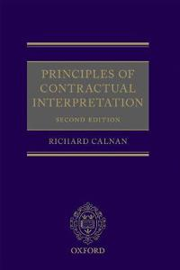 Principles of Contractual Interpretation