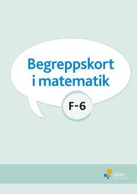 Begreppskort i matematik F-6