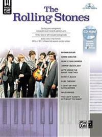 The Rolling Stones Piano Play-Along: Piano/Vocal/Play-Along, Book & CD-ROM
