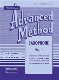 Rubank Advanced Method - Saxophone Vol. 1