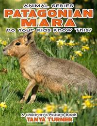 Patagonian Mara Do Your Kids Know This?: A Children's Picture Book