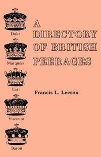 A Directory of British Peerages