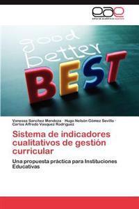 Sistema de Indicadores Cualitativos de Gestion Curricular