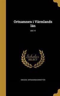 SWE-ORTNAMNEN I VARMLANDS LAN